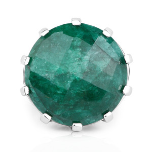 Emerald Silver Ring 7802RE