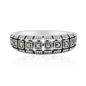 Marcasite Silver Ring 8041YP