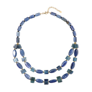 Kyanite Silver Necklace 8072SS