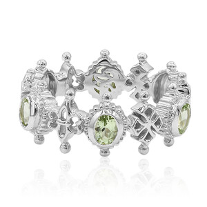 Mint Tsavorite Silver Ring (Dallas Prince Designs) 8501RB