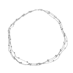 Silver Necklace 8574MH