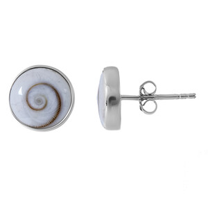 Shiva Eye Silver Earrings 8610CI