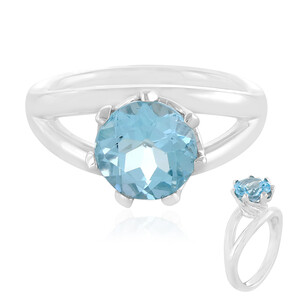Sky Blue Topaz Silver Ring 8822MV