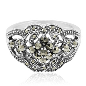 Marcasite Silver Ring 8900JN