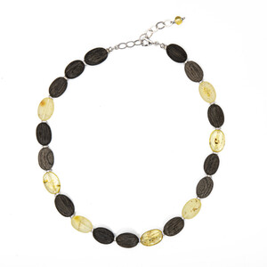 Baltic Amber Silver Necklace (dagen) 9265GG