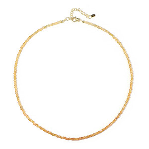 Imperial Topaz Silver Necklace 9443GO