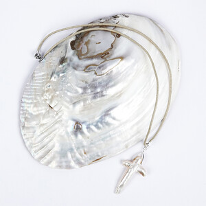 Mother of Pearl Silver Accessory 9501BE