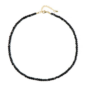 Onyx Silver Necklace 9557BV